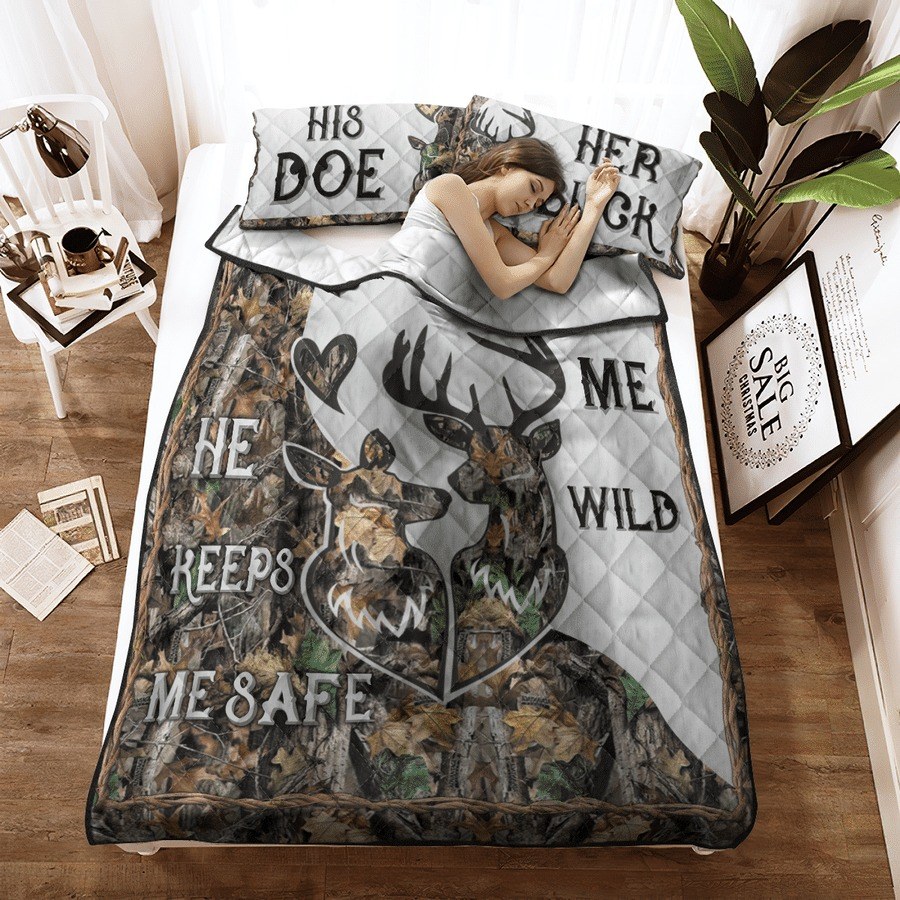 Hunting Deer bedding set8