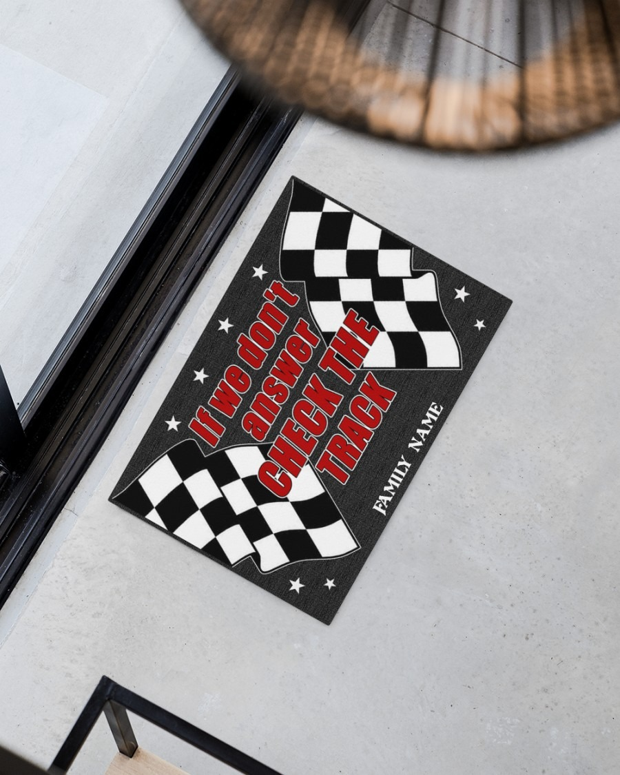If we dont answer check the track custom name doormat2