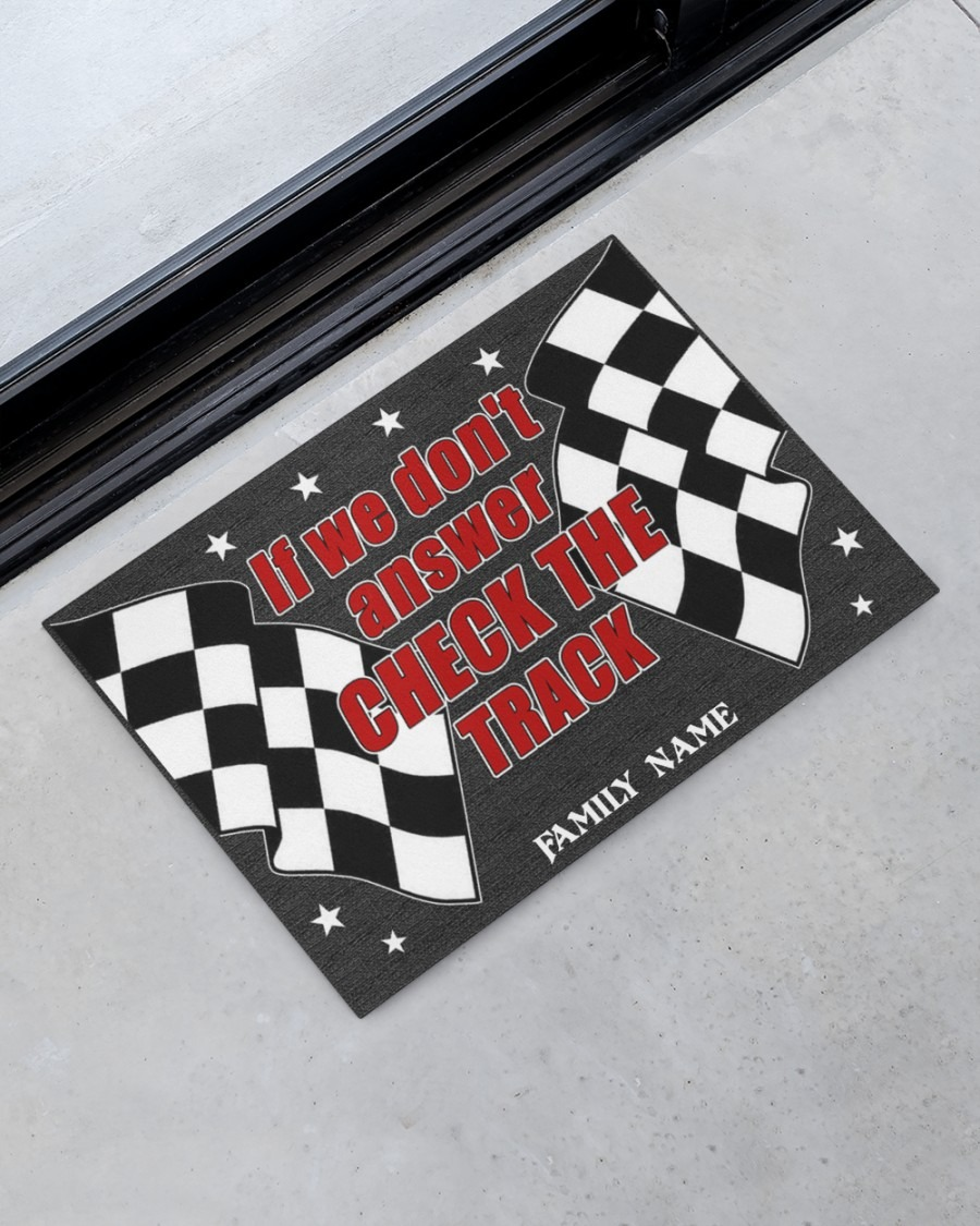 If we dont answer check the track custom name doormat3