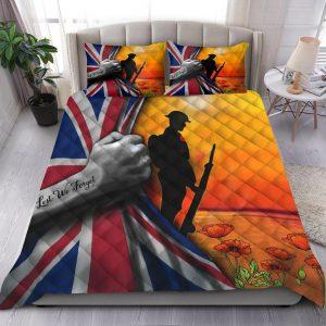Lest we forget UK veteran bedding set