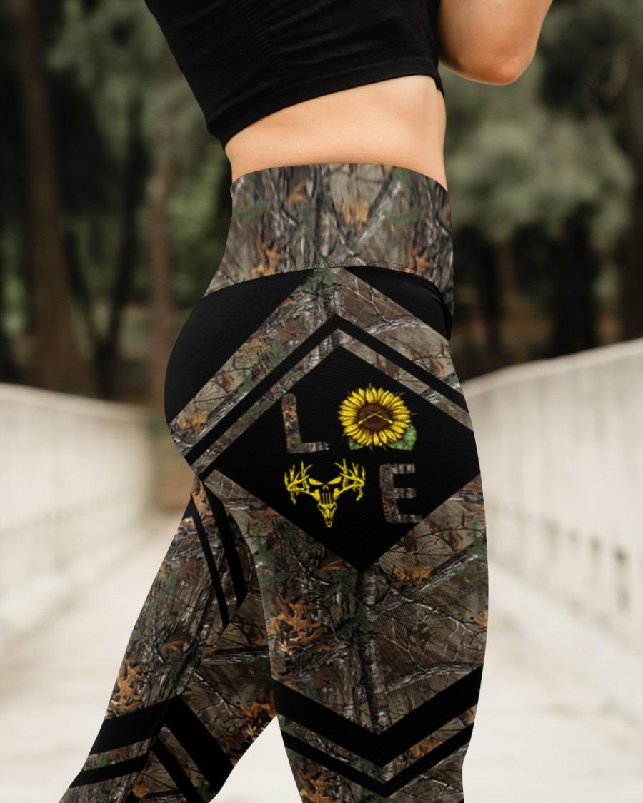 Love hunting sunflower legging4