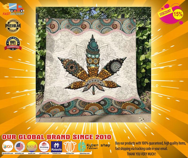 Mandala weed blanket23