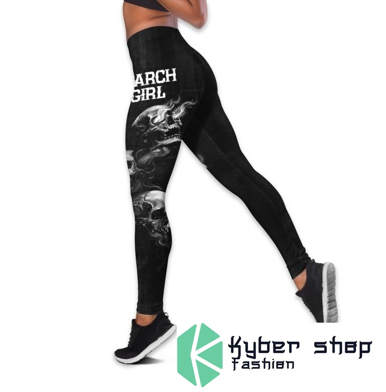 March girl stuck between IDK IDC and IDGAF custom name 3D hoodie and legging3