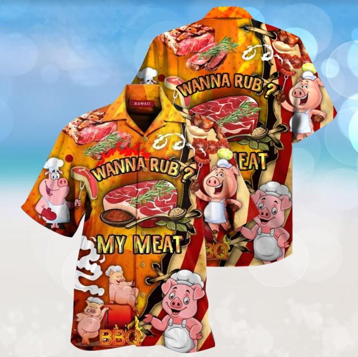 Pig Wanna rub my meat hawaiian2