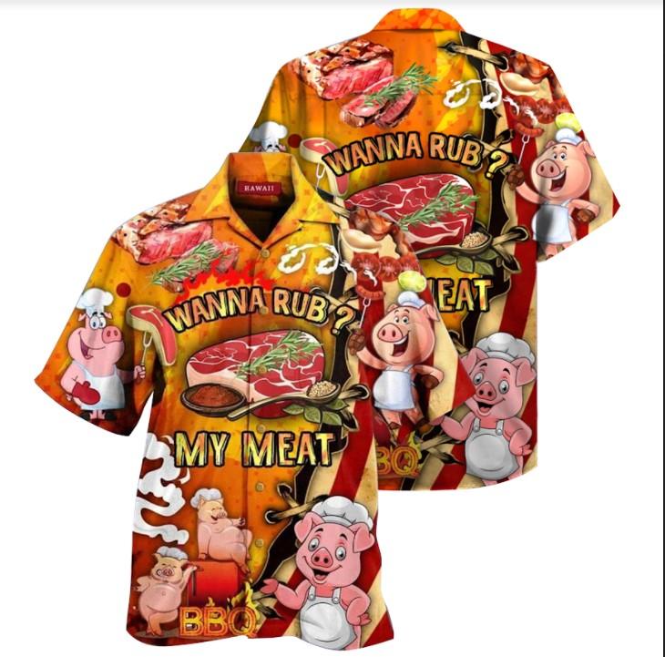 Pig Wanna rub my meat hawaiian3