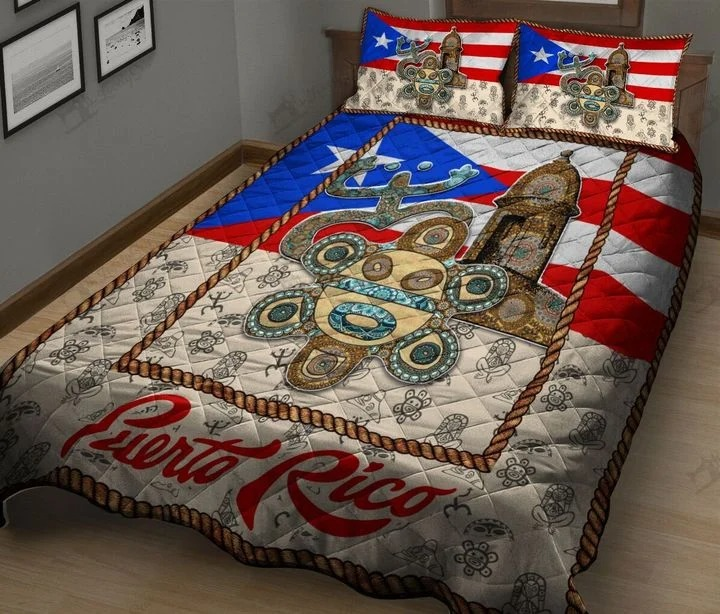 Puerto rico bedding set2