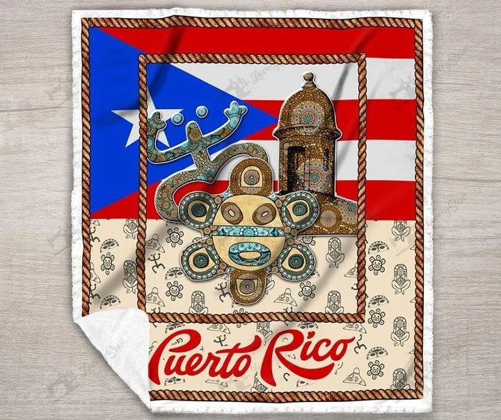Puerto rico bedding set3