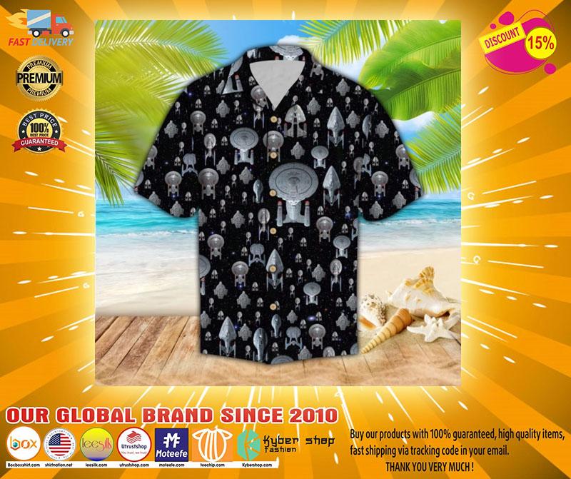 Spaceship hawaiian shirt2