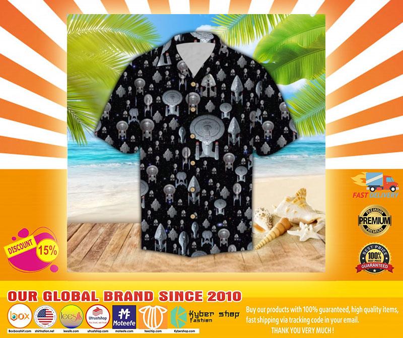 Spaceship hawaiian shirt4