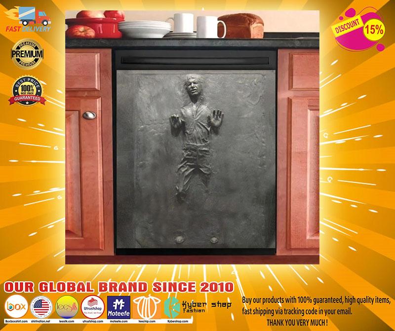 Star War carbonite decor kitchen dishwasher2
