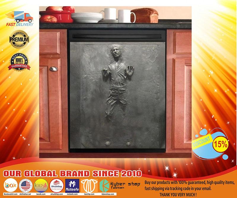 Star War carbonite decor kitchen dishwasher3