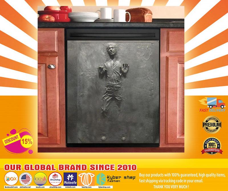 Star War carbonite decor kitchen dishwasher4