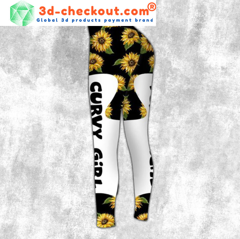 Sunflower Curvy girl love your body 3d hoodie and legging2 1