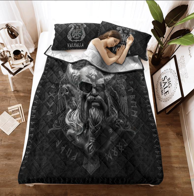 Viking Odin ragnarok bedding set3