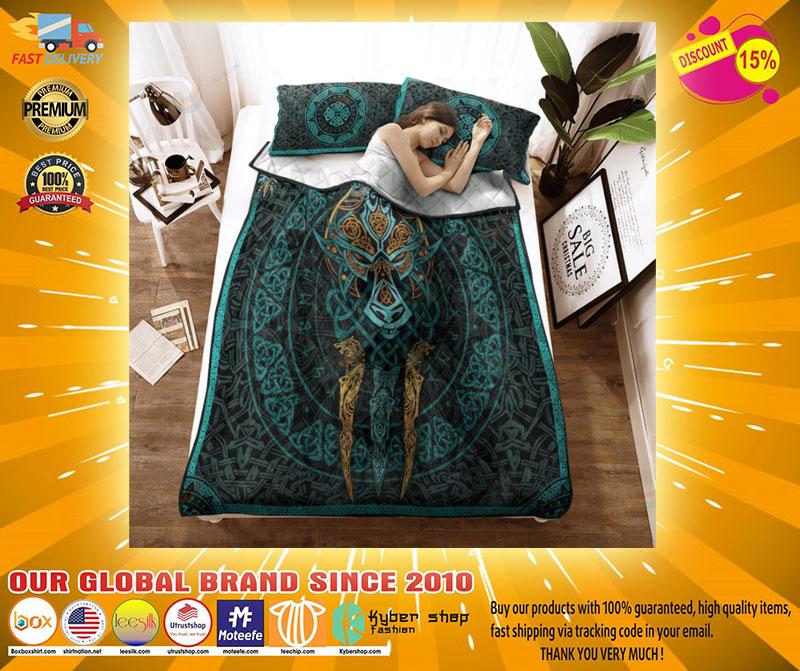 Viking fernir bedding set2