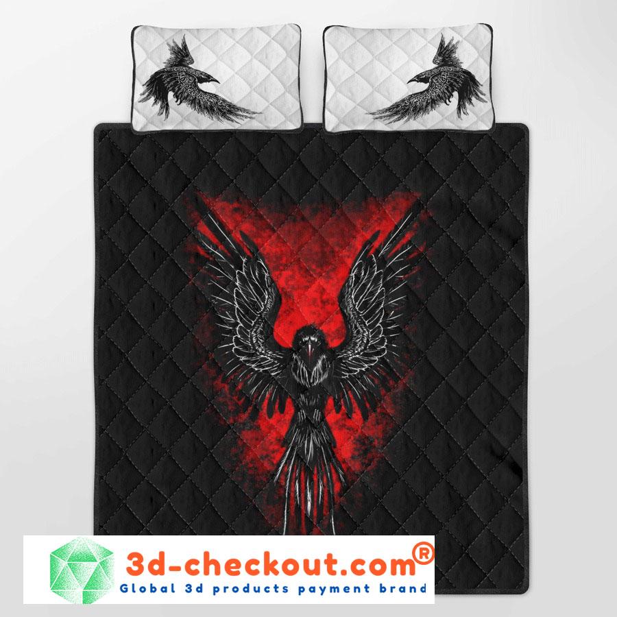 Viking raven bedding set3