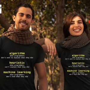 Algorithm heuristic machine learning shirt7