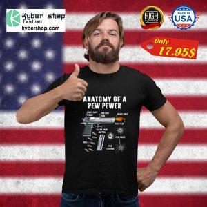 Anatomy of a pew pewer Shirt23