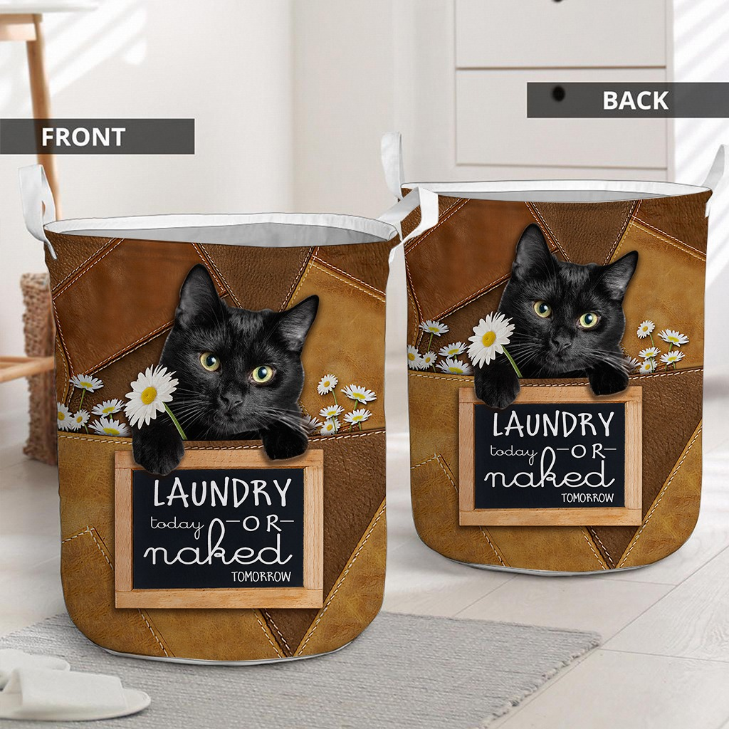 Black cat basket laundry2