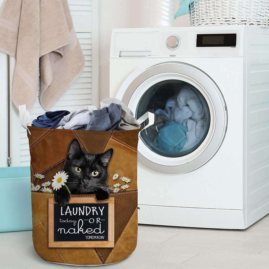 Black cat basket laundry3