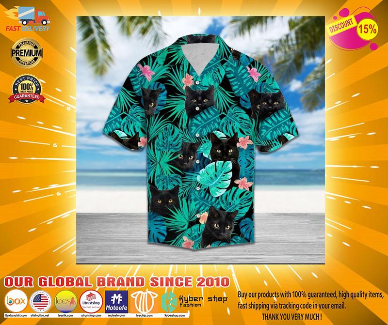 Black cat tropical hawaiian21