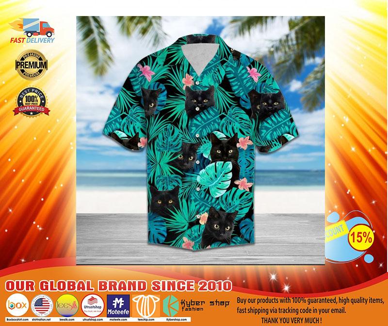 Black cat tropical hawaiian4
