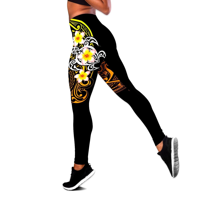 Flower tank top and legging3