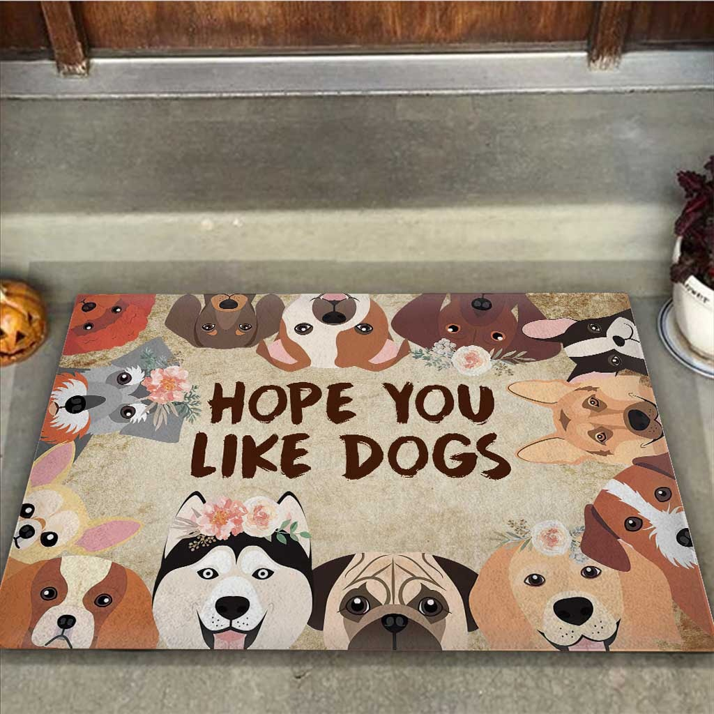 Hope you like dogs doormat2 1