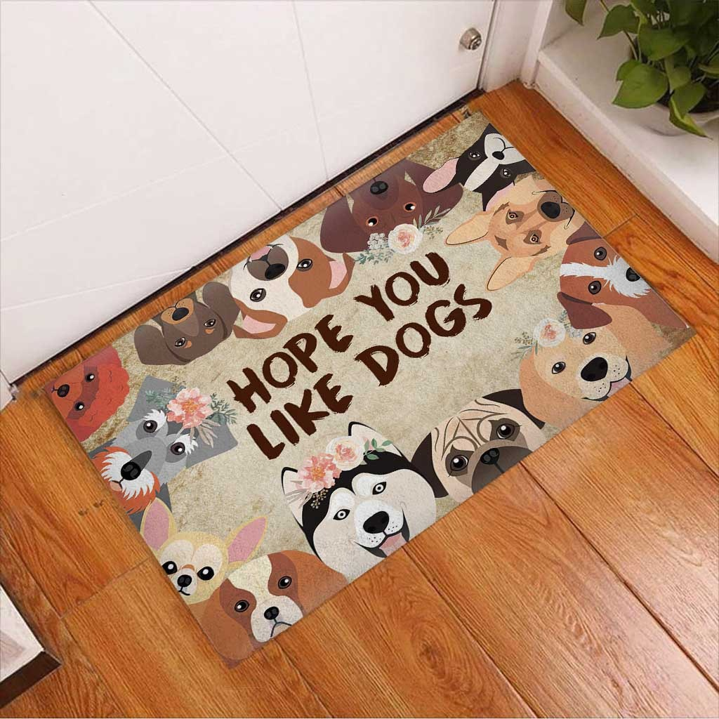 Hope you like dogs doormat3 1