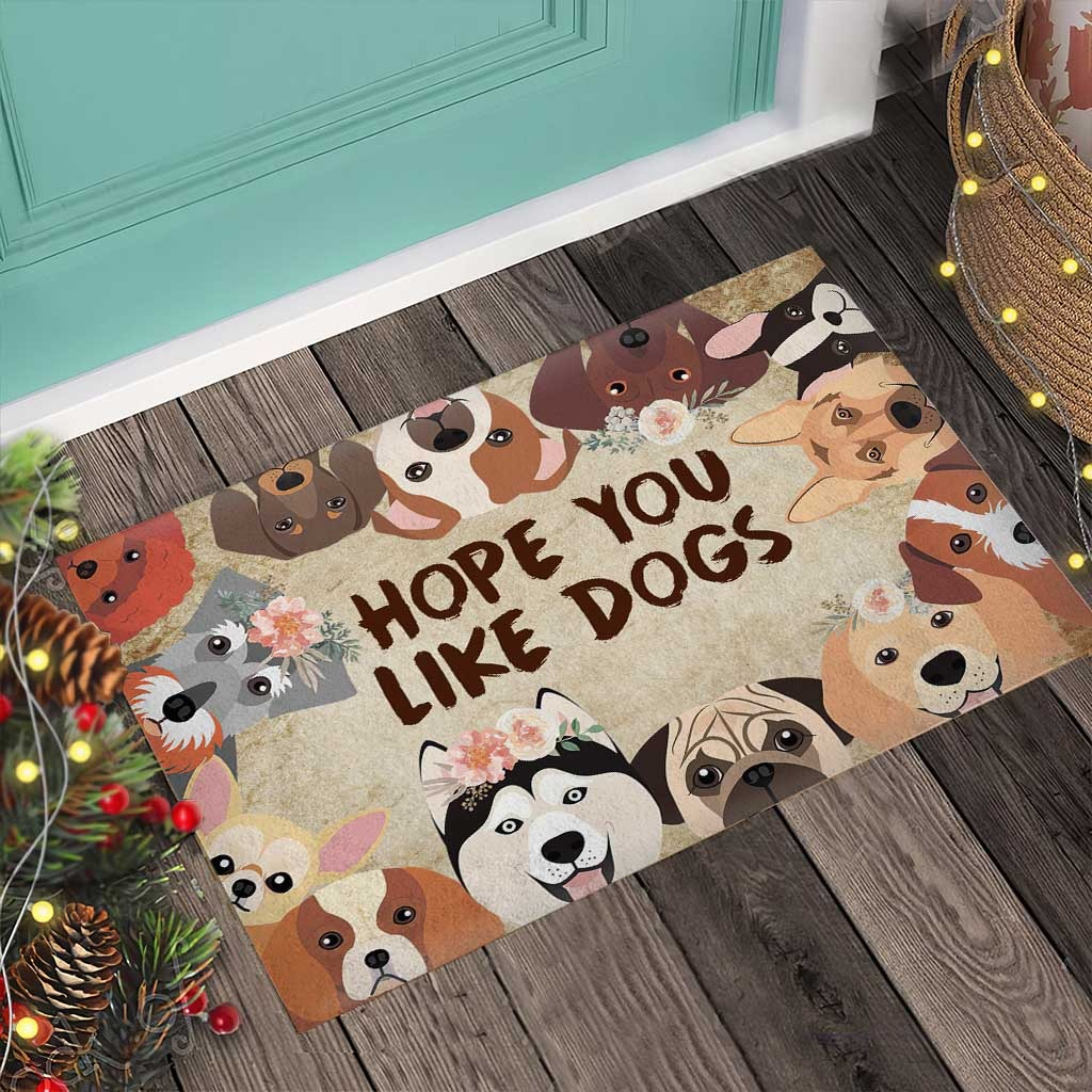 Hope you like dogs doormat4 1