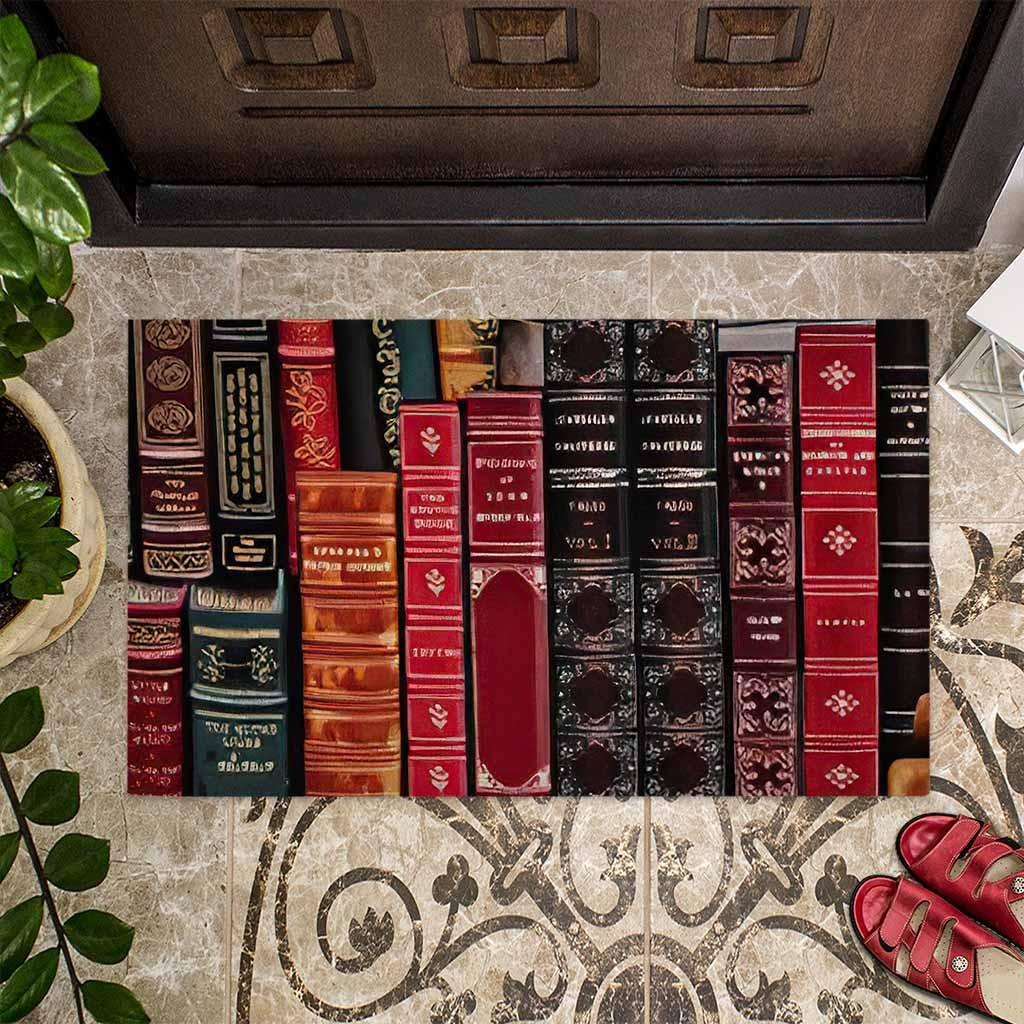 Librarian welcome doormat4
