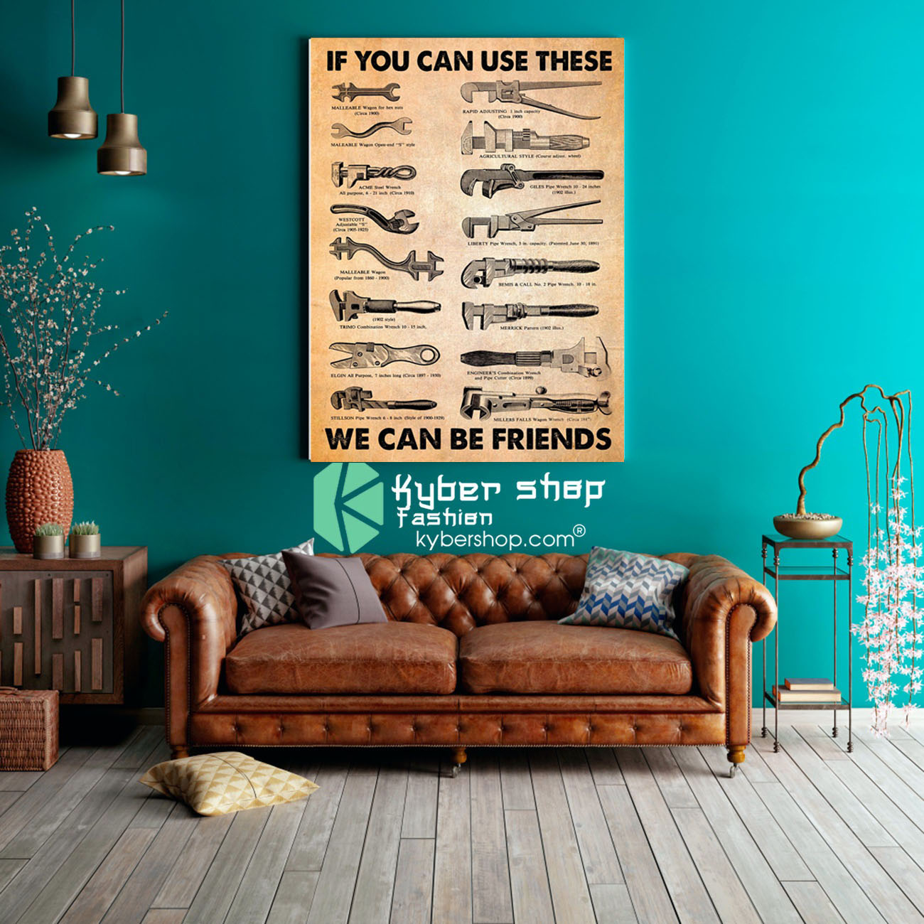 Mechanic If you can use these we can be friends poster8