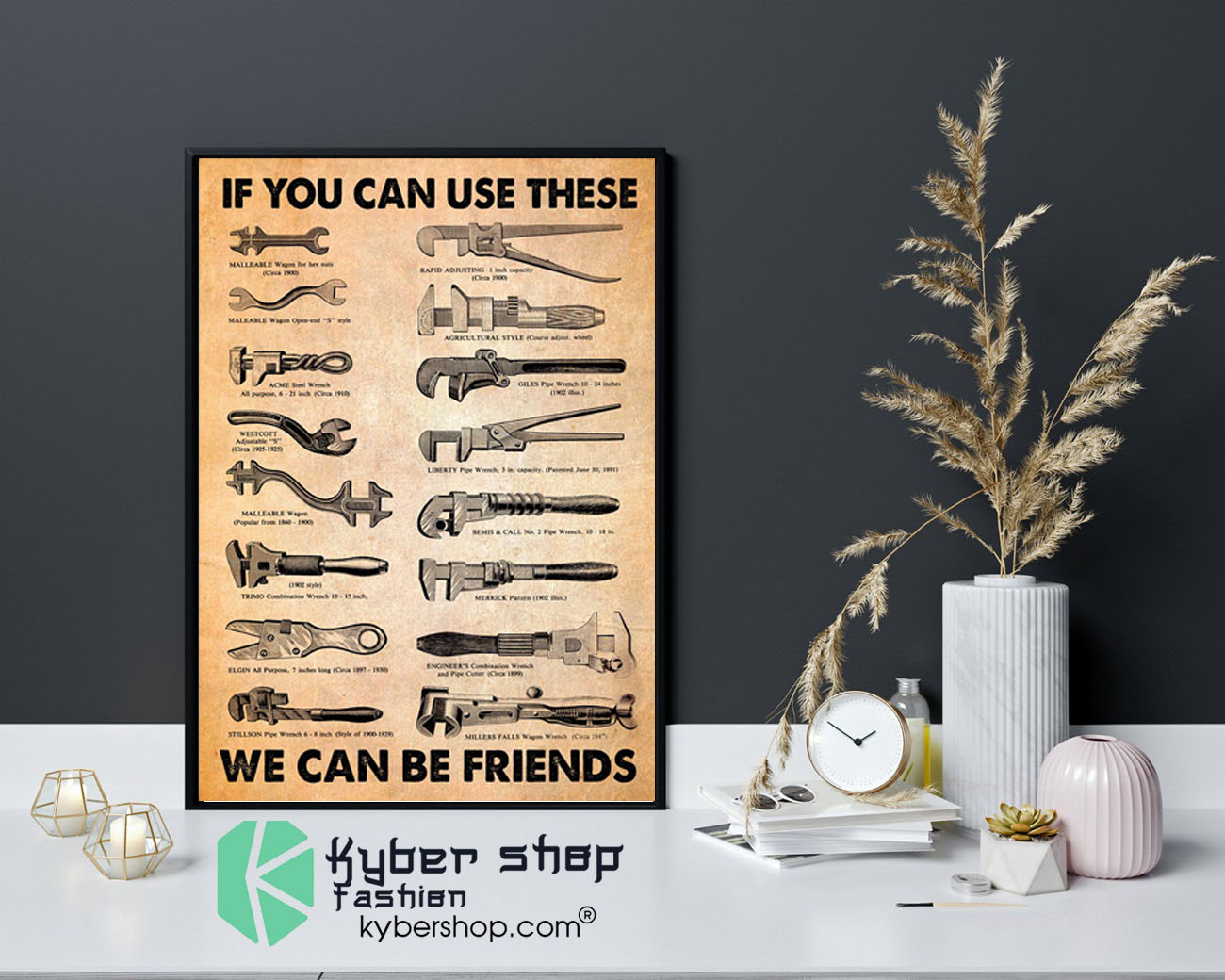 Mechanic If you can use these we can be friends poster9