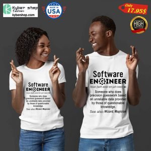 Software engineer definition funny Shirt8