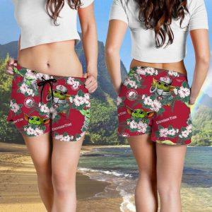 Alabama Crimson Tide And Yoda Hawaiian And Beach Short4