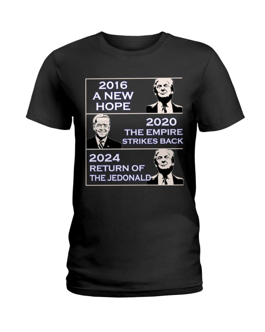 America 2016 A New 2020 The Empire Strikes Back 2024 Return Of The Jedonald Shirt1