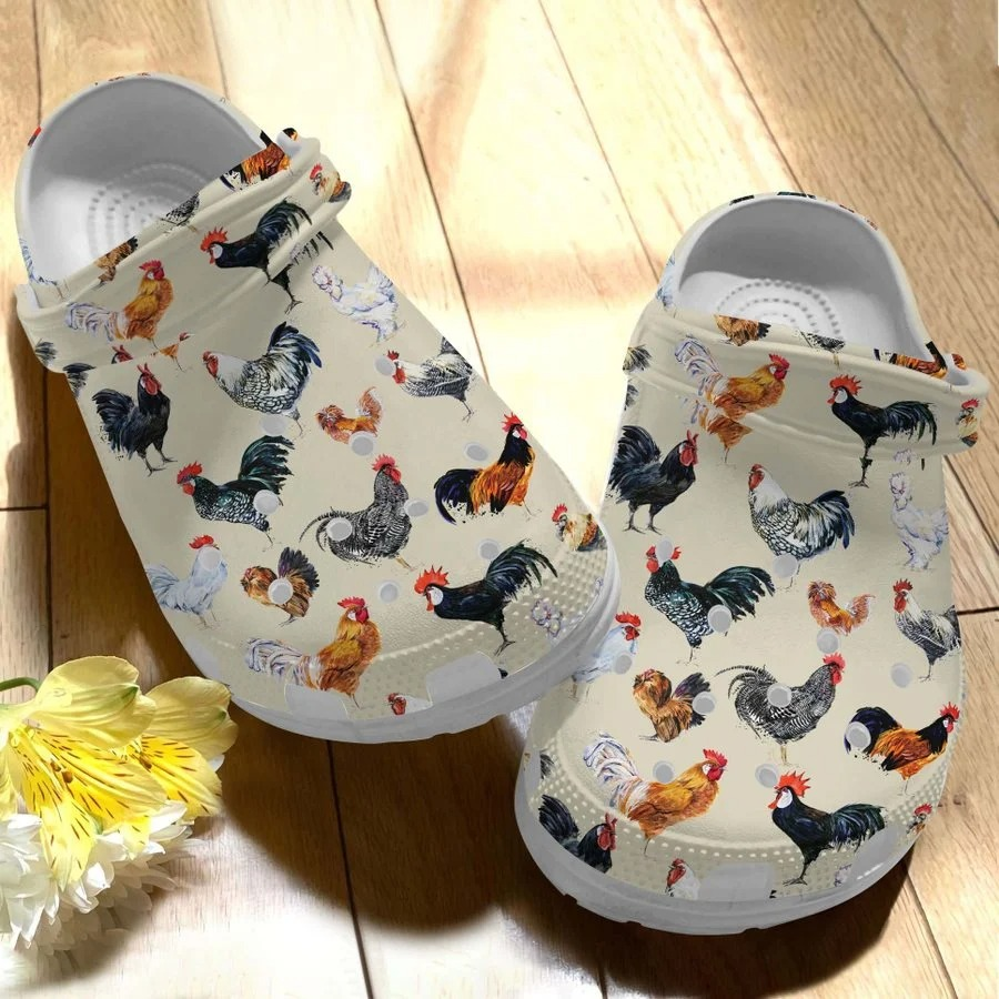 Chicken crocs crocband clog2