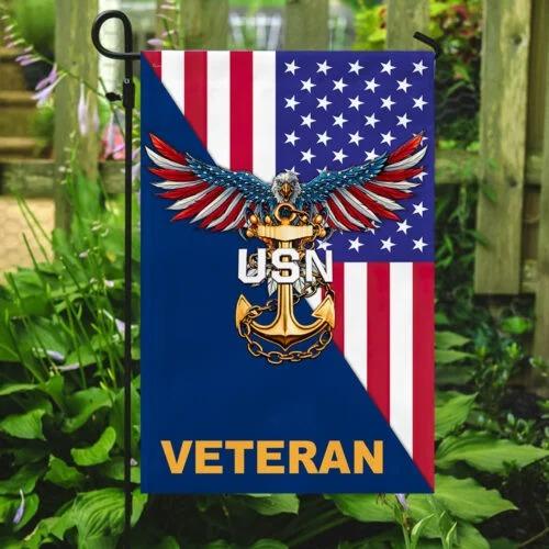 Eagle United states Navy veteran American flag3