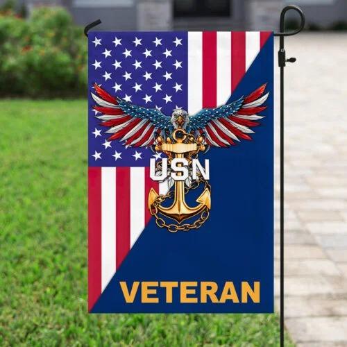 Eagle United states Navy veteran American flag4
