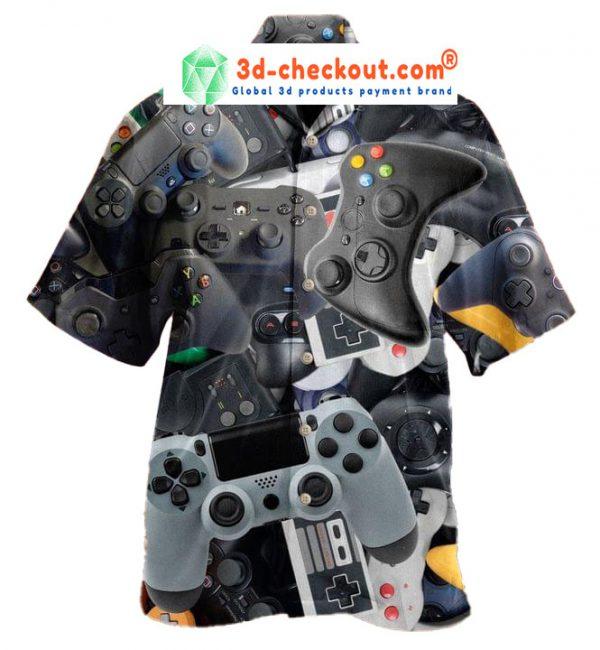 Game Controller Unisex Haiwaiian Shirt