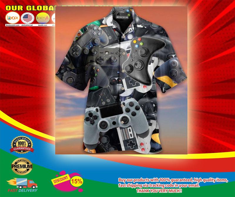 Game Controller Unisex Haiwaiian Shirt5