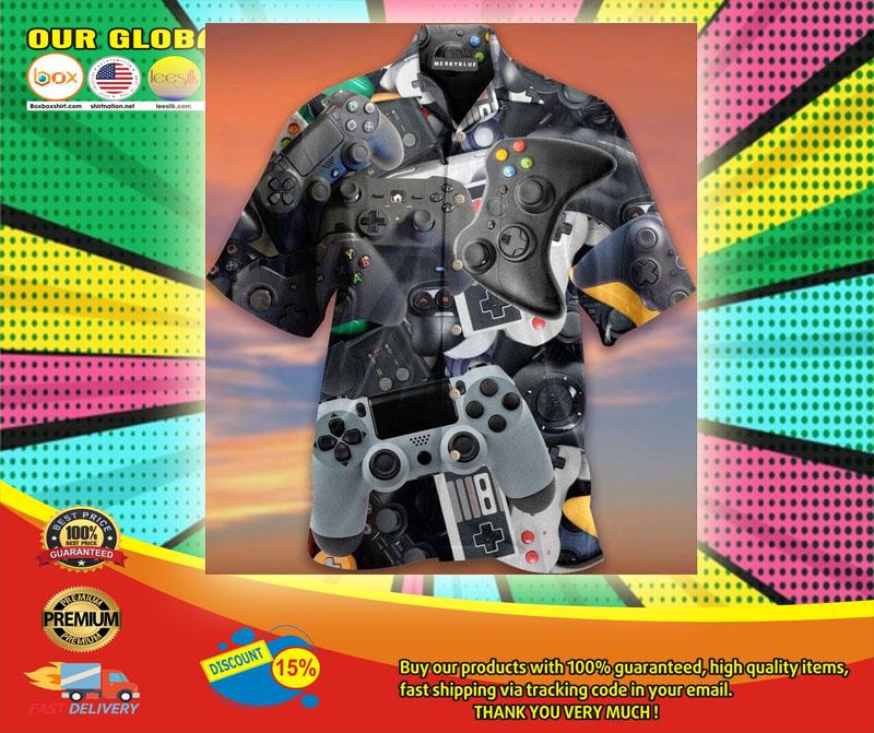 Game Controller Unisex Haiwaiian Shirt6