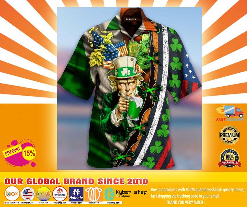 I Want You To Drink Beer Saint Patricks Day Hawaiian Shirt4