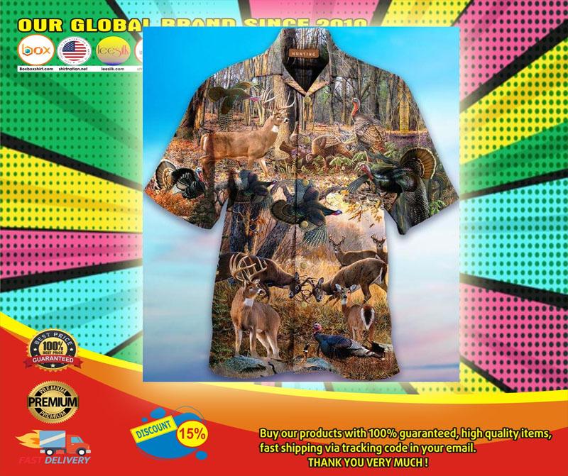 If It Flies It Dies If It Hops It Drops Hawaiian Shirt6