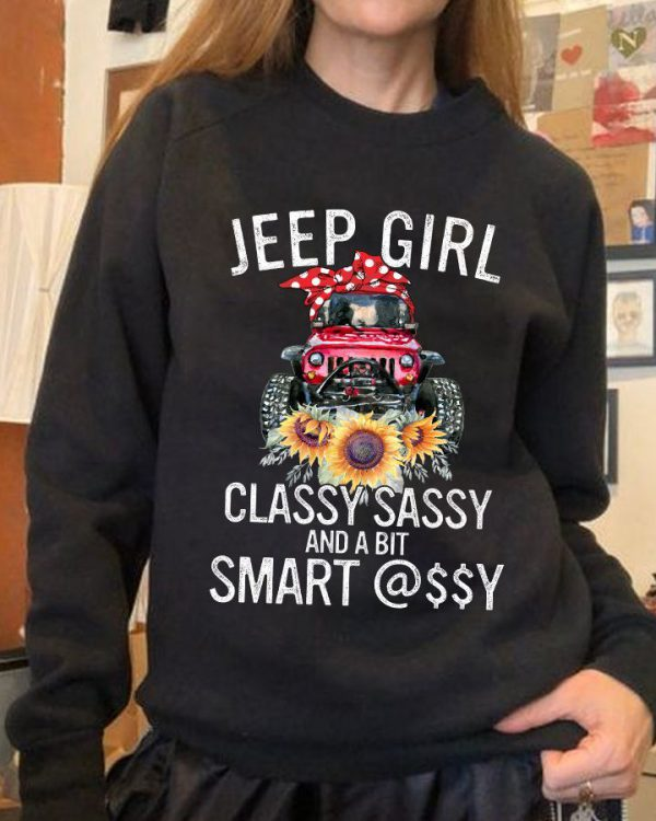Jeep Girl Classy Sassy Smart Shirt2