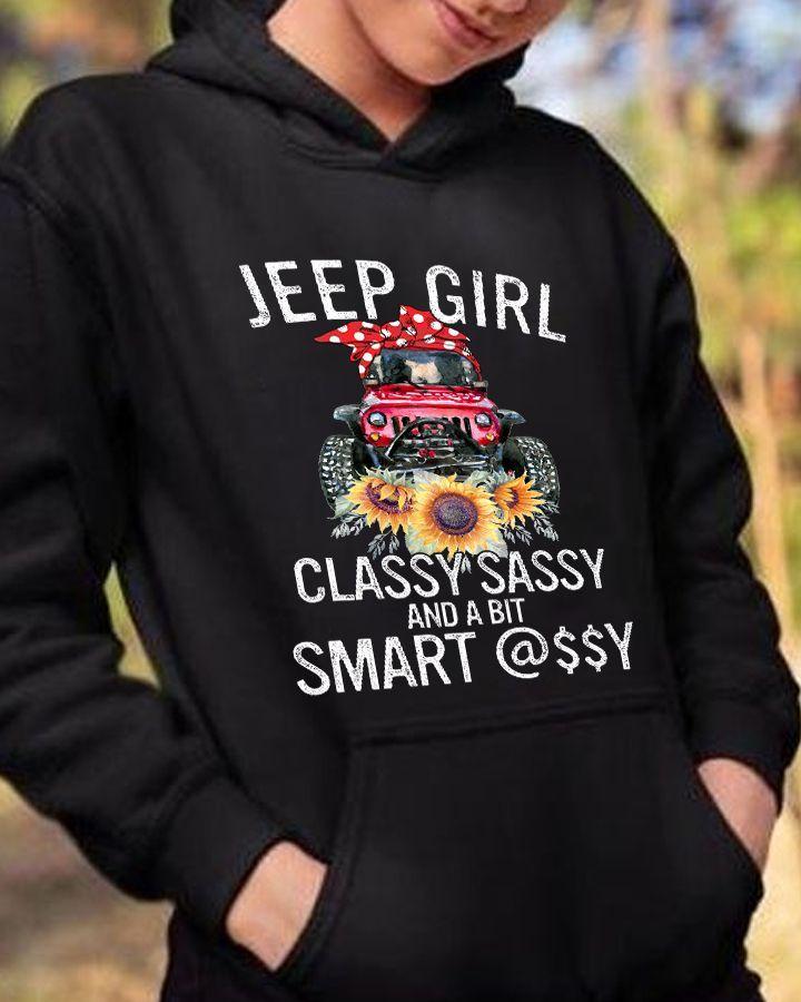 Jeep Girl Classy Sassy Smart Shirt3