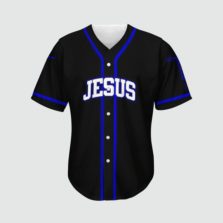 Jesus way maker miracle worker promise keeper light in the darkness Baseball Jersey2