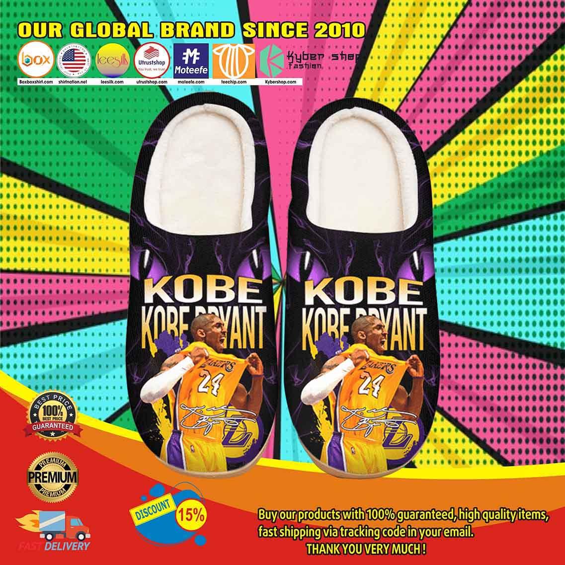 Kobe Bryant Custom Shoes Slippers 2