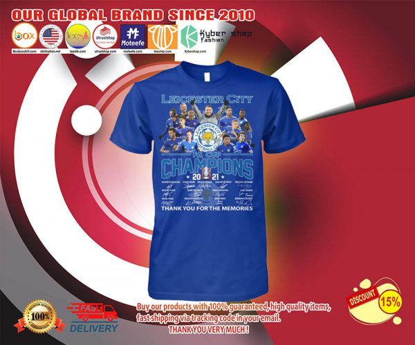 Leicester city FA cup champions 2021 shirt 3