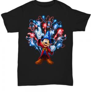 Mickey mouse firework Shirt Hoodie